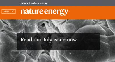 Nature Energy text