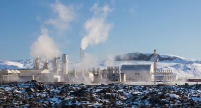 The Svartsengi geothermal power station near Grindavik, Iceland. ARTERRA/UNIVERSAL IMAGES GROUP VIA GETTY IMAGES