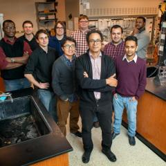 Professor Richard Robinson & Research Group